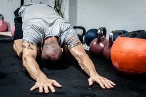 kettlebell, stretching, fitness